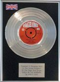 "Vanity Fair - 7"" Platinum Disc - Early In The Morning"